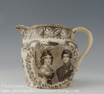 Victoria & Albert Wedding Jug