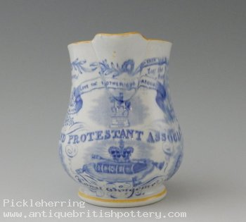 Grand Protestant Association Jug