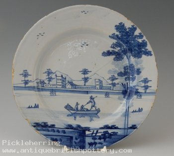 Chinoiserie Boating Plate
