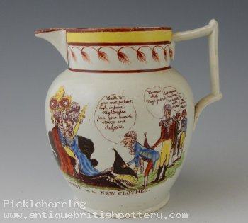 Bonaparte Satirical Jug