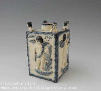 Bovey Tracey Tea Caddy