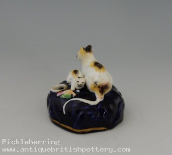 Cat & Kitten Inkwell