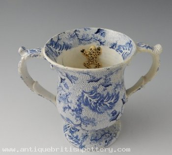 Loving Cup with 3 Frogs 1839