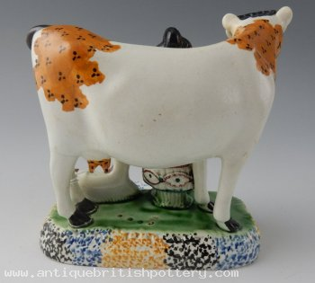 Cow & Calf with Farmers Wife